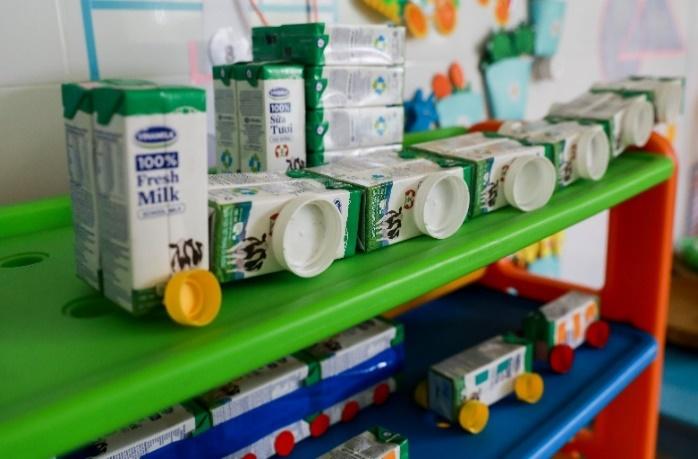 Thêm nhiều niềm vui đến lớp cho trẻ với giờ uống sữa học đường - Ảnh 6.