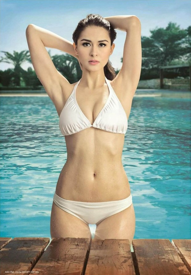 Hết thời phát phì sau sinh, mỹ nhân đẹp nhất Philippines tự tin diện bratop khoe cơ bụng săn chắc - Ảnh 1.