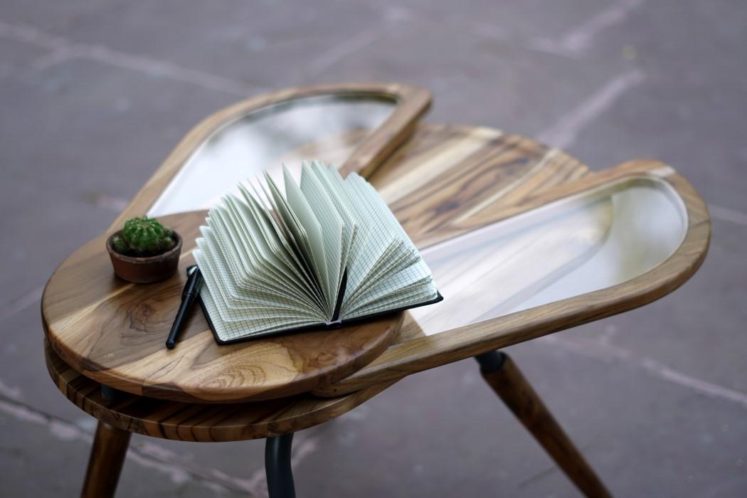 Thiết kế độc đáo như chú bọ cánh cứng, chiếc bàn trà ăn gian diện tích được lòng hội chị em sở hữu nhà nhỏ hẹp - Ảnh 8.