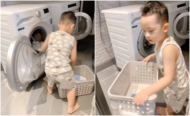 Khoe con trai biết làm việc nhà, Ly Kute tiết lộ chuyện nuôi dạy con cực khéo - Ảnh 2.