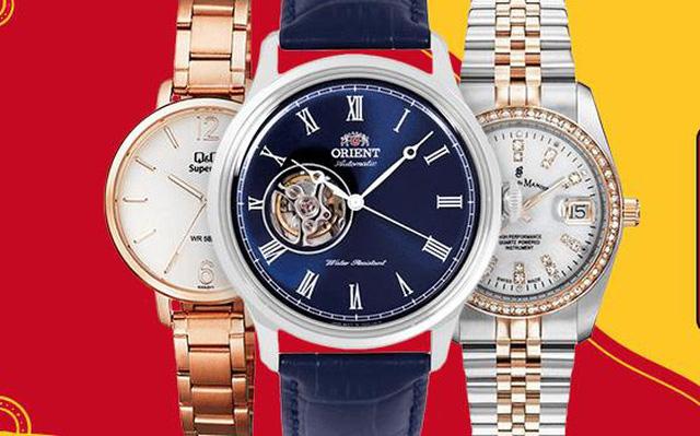 Tháng khuyến mại: săn đồng hồ đeo tay thời thượng giảm giá tới 50% - Ảnh 1.
