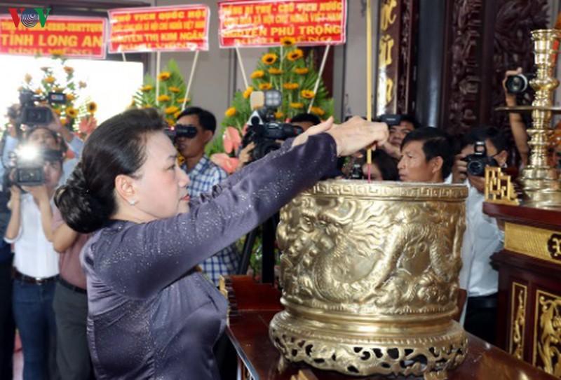 Lễ kỷ niệm 110 năm ngày sinh ông Nguyễn Hữu Thọ - Ảnh 2.