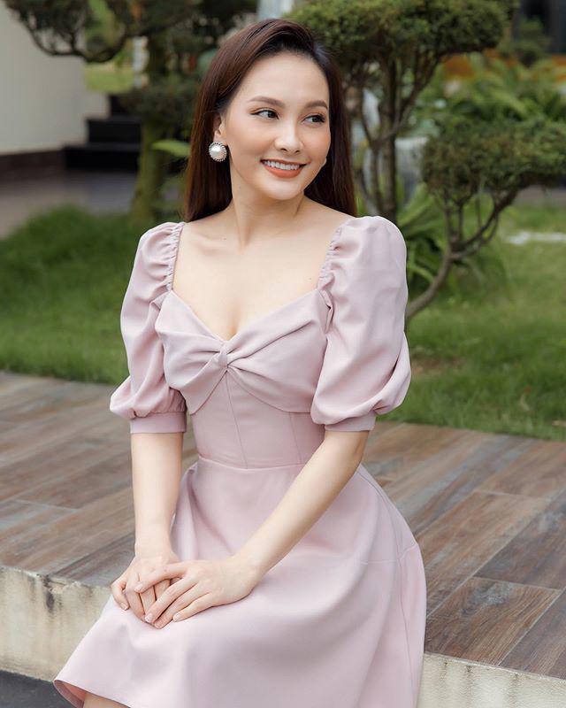 """Chuẩn bị làm mẹ lần 2, Bảo Thanh đổi style trang điểm """"lố tay"""" nhưng được khen ngợi hết lời - Ảnh 5."""