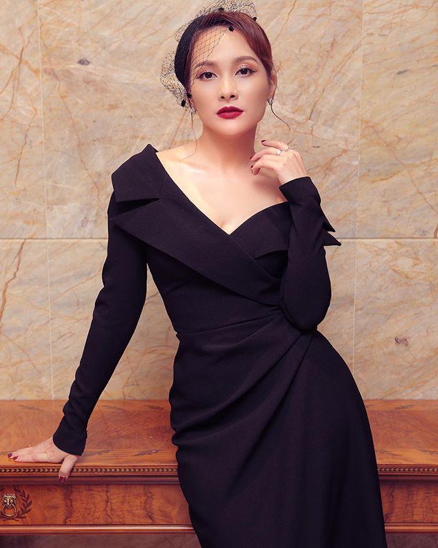 """Chuẩn bị làm mẹ lần 2, Bảo Thanh đổi style trang điểm """"lố tay"""" nhưng được khen ngợi hết lời - Ảnh 8."""