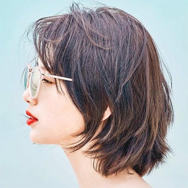 Tóc ngắn layer cho nữ đẹp gọn gàng phù hợp với mọi gương mặt - Ảnh 5.