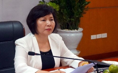 Khởi tố cựu thứ trưởng Bộ Công thương Hồ Thị Kim Thoa - Ảnh 1.
