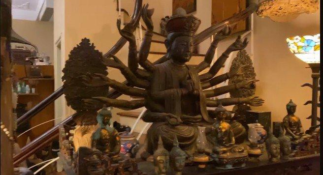 Trầm trồ trước không gian sống tràn ngập tượng Phật của Diva Thanh Lam và mẹ - Ảnh 6.