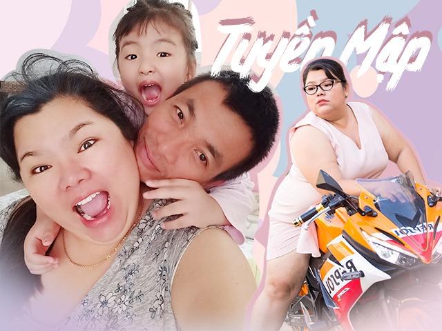 Hậu đám cưới với chồng kém 40kg, 5 năm qua Tuyền Mập vẫn một mình nuôi con, từng muốn li hôn - Ảnh 1.