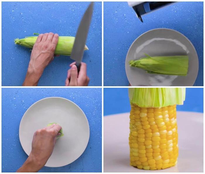 8 cách bóc vỏ thực phẩm không cần dao kéo khiến chị em vụng cũng thành đầu bếp 5 sao - Ảnh 3.