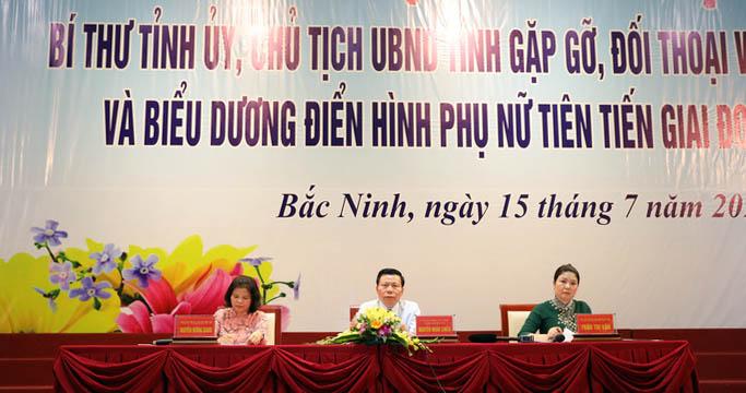 Bắc Ninh: Biểu dương 90 điển hình phụ nữ tiên tiến giai đoạn 2015-2020 - Ảnh 1.