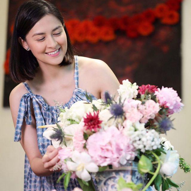 Không hổ danh là mỹ nhân đẹp nhất Philippines, mẹ 2 con Marian đẹp hoàn hảo - Ảnh 13.