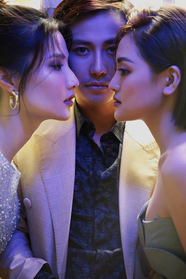 Thanh Sơn, Diễm My 9X và Thùy Anh chụp ảnh kể chuyện tình tay ba - Ảnh 1.