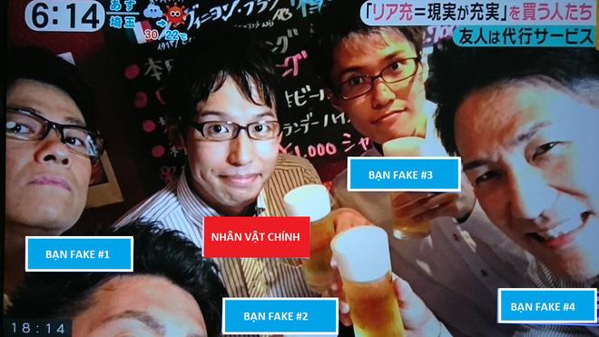 """Nhật Bản nở rộ dịch vụ cho thuê """"bạn giả"""" với giá 1,7 triệu đồng/người để sống ảo trên mạng xã hội - Ảnh 2."""