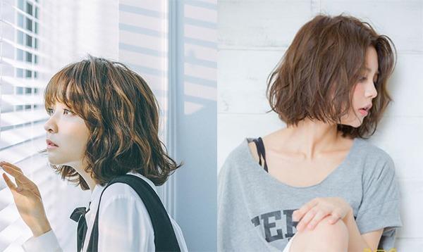 15 kiểu tóc ngắn xoăn sóng đẹp nhất 2020 phù hợp với mọi gương mặt - Ảnh 4.