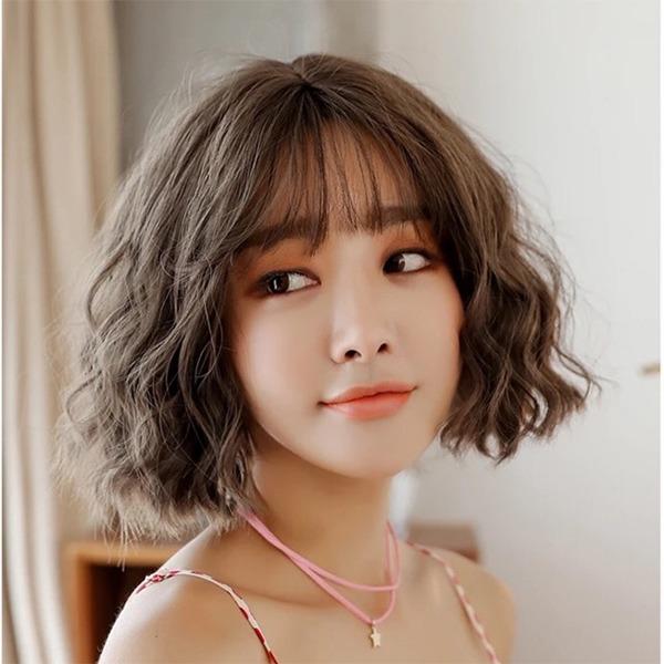 15 kiểu tóc ngắn xoăn sóng đẹp nhất 2020 phù hợp với mọi gương mặt - Ảnh 7.