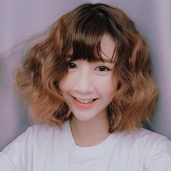 15 kiểu tóc ngắn xoăn sóng đẹp nhất 2020 phù hợp với mọi gương mặt - Ảnh 8.