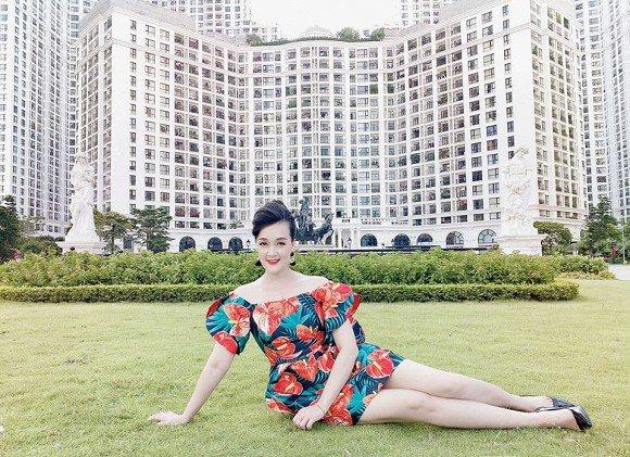 Vân Dung đăng ảnh chân dài như siêu mẫu dù chỉ cao 1m6, không hổ danh từng thi Hoa hậu - Ảnh 3.