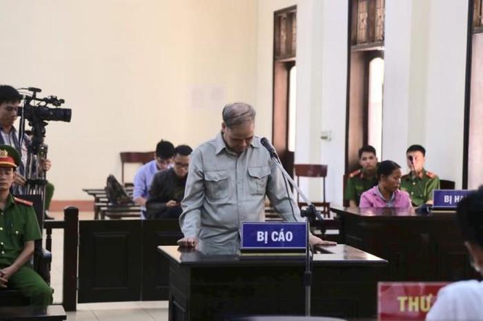 Bị cáo Đinh Bằng My tại phiên tòa sơ thẩm.