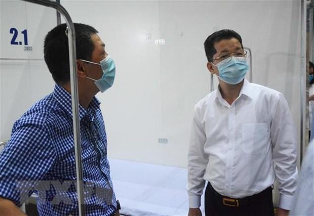 Sớm đưa Bệnh viện dã chiến Tiên Sơn đi vào hoạt động - Ảnh 1.