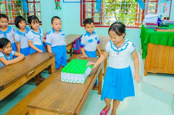 Chương trình Sữa học đường sẵn sàng các phương án ngày tựu trường năm học mới - Ảnh 1.