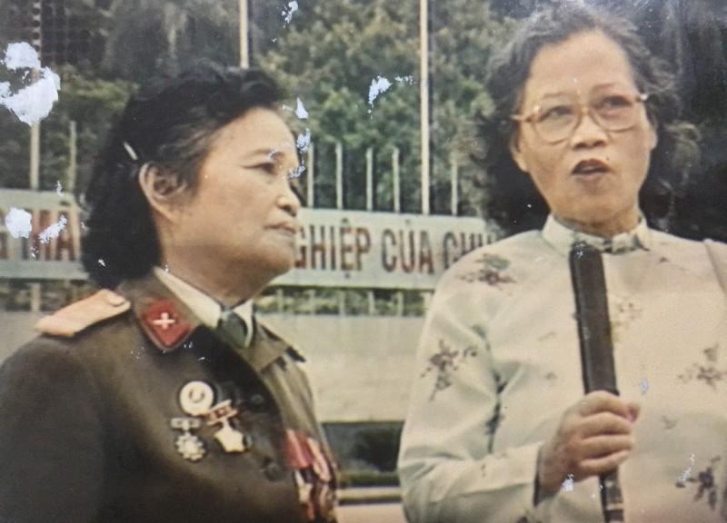 Nữ giải phóng quân kéo cờ trong Lễ Tuyên ngôn Độc lập 2/9/1945 - Ảnh 7.
