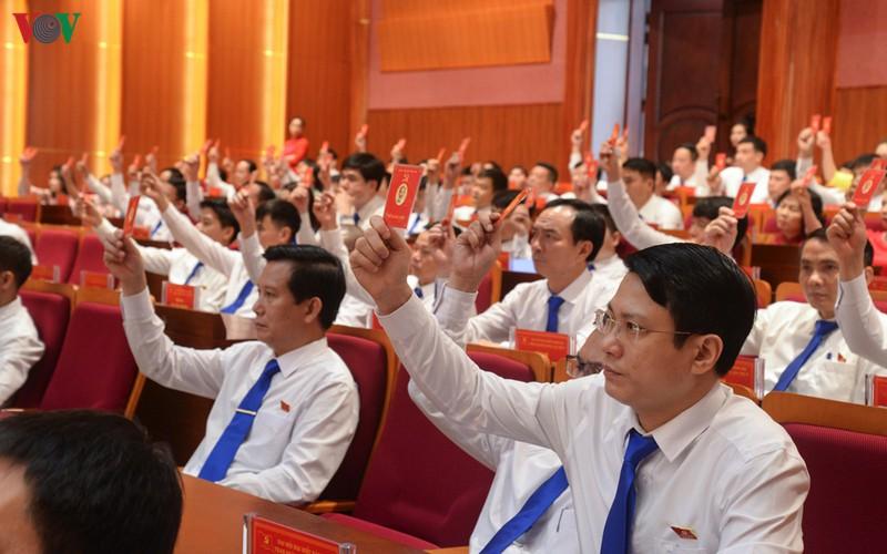 """Đại hội Đảng cấp trên cơ sở ở Quảng Ninh """"cán đích"""" sớm hơn 1 tháng - Ảnh 1."""