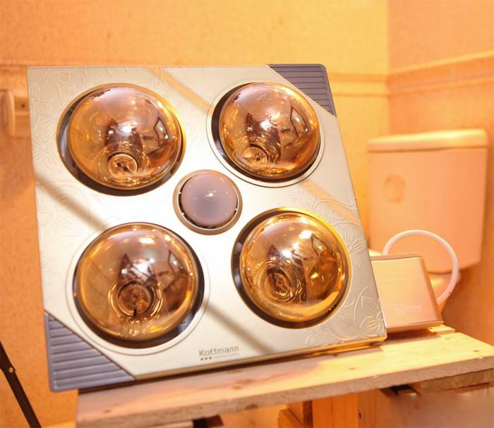 Sử dụng đèn sưởi trong nhà tắm: Muốn an toàn cần tránh mắc phải những sai lầm nào? - Ảnh 3.