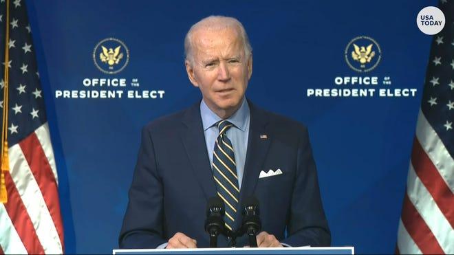 Biden - nhậm chức - nước Mỹ thống nhất