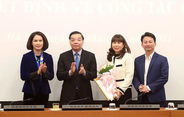 Hà Nội lần đầu có nữ Giám đốc Sở Du lịch  - Ảnh 1.