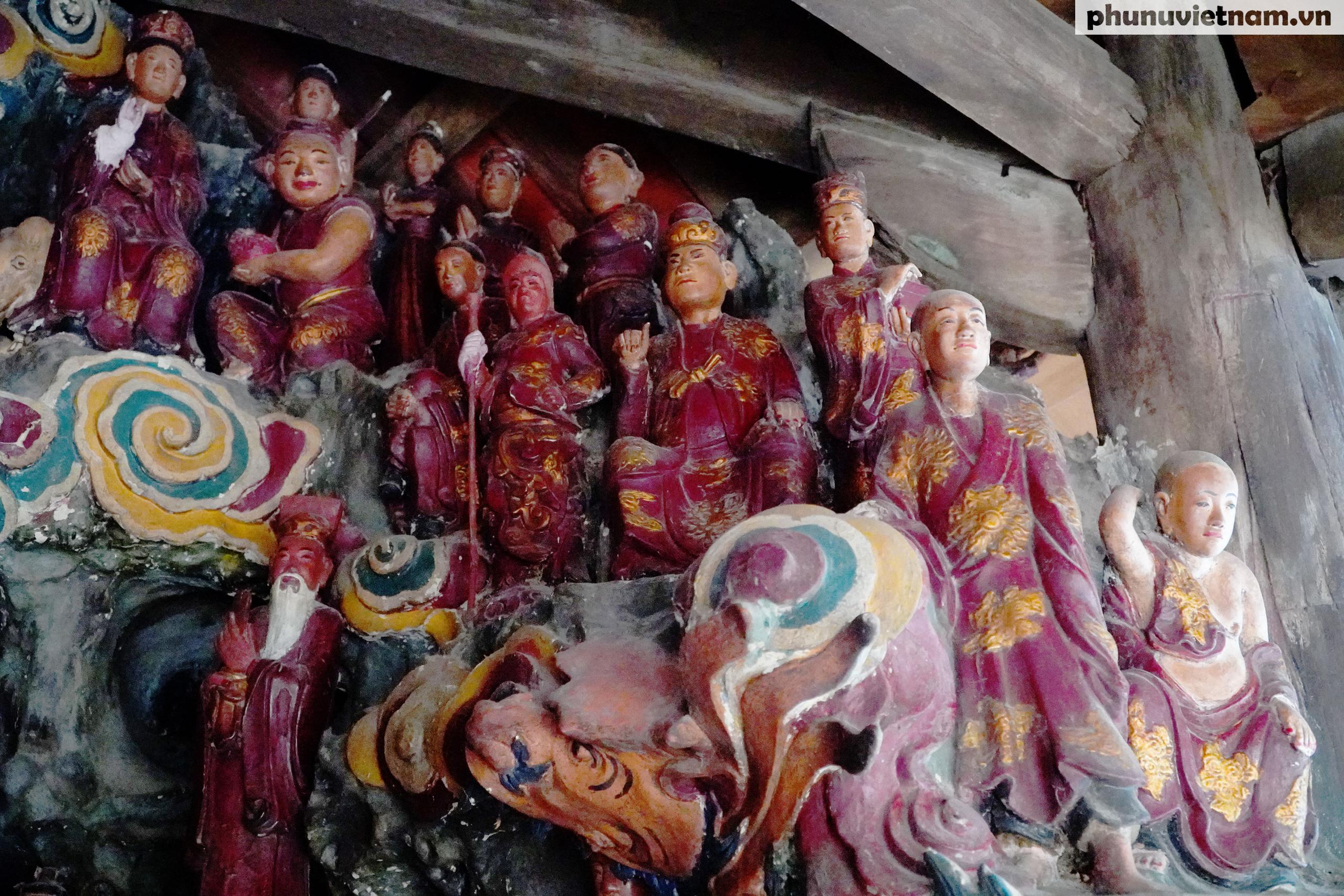 Ngỡ ngàng trước những kiệt tác bằng đất sét trên 200 tuổi về đạo Phật - Ảnh 3.