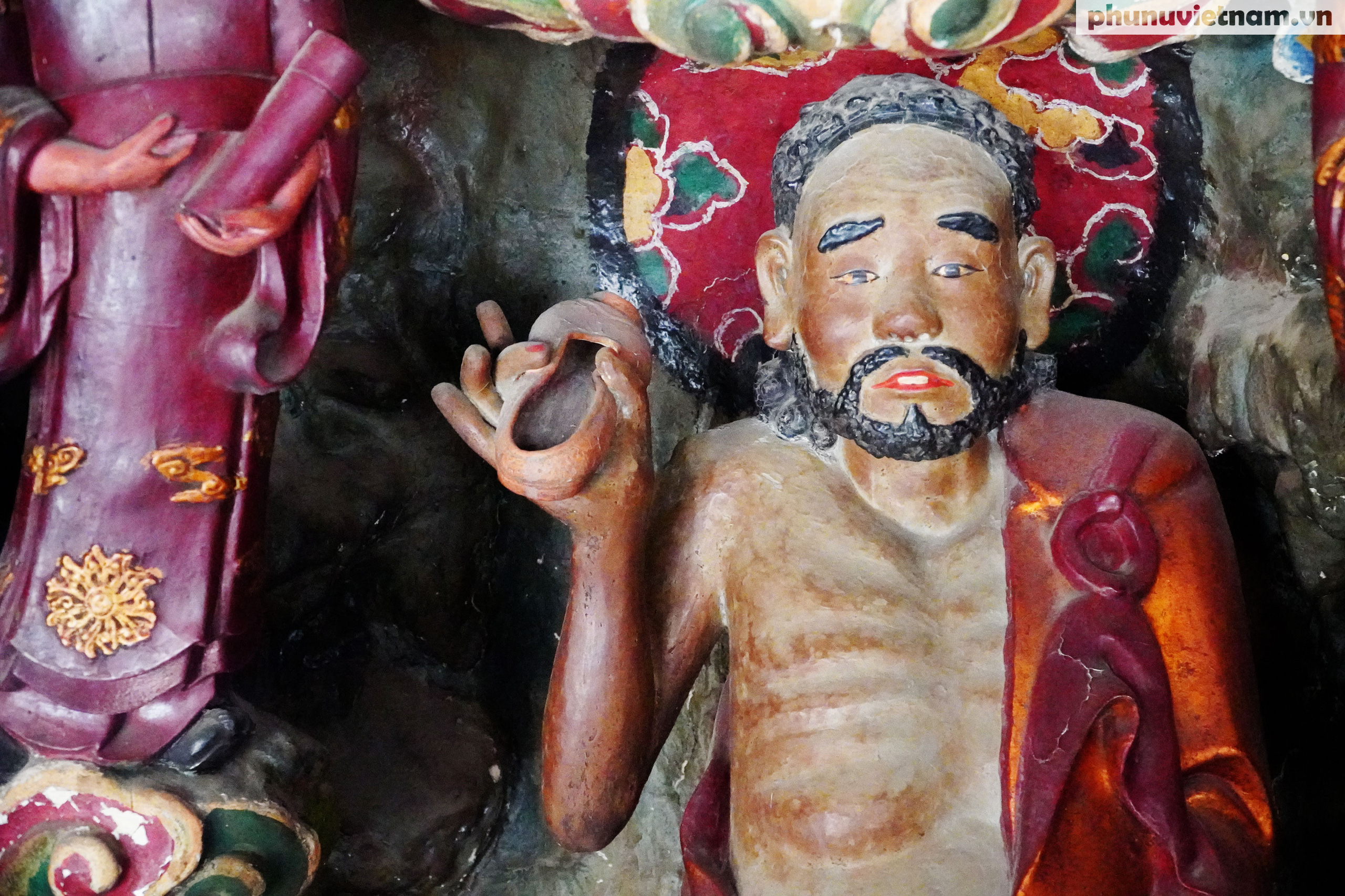 Ngỡ ngàng trước những kiệt tác bằng đất sét trên 200 tuổi về đạo Phật - Ảnh 9.