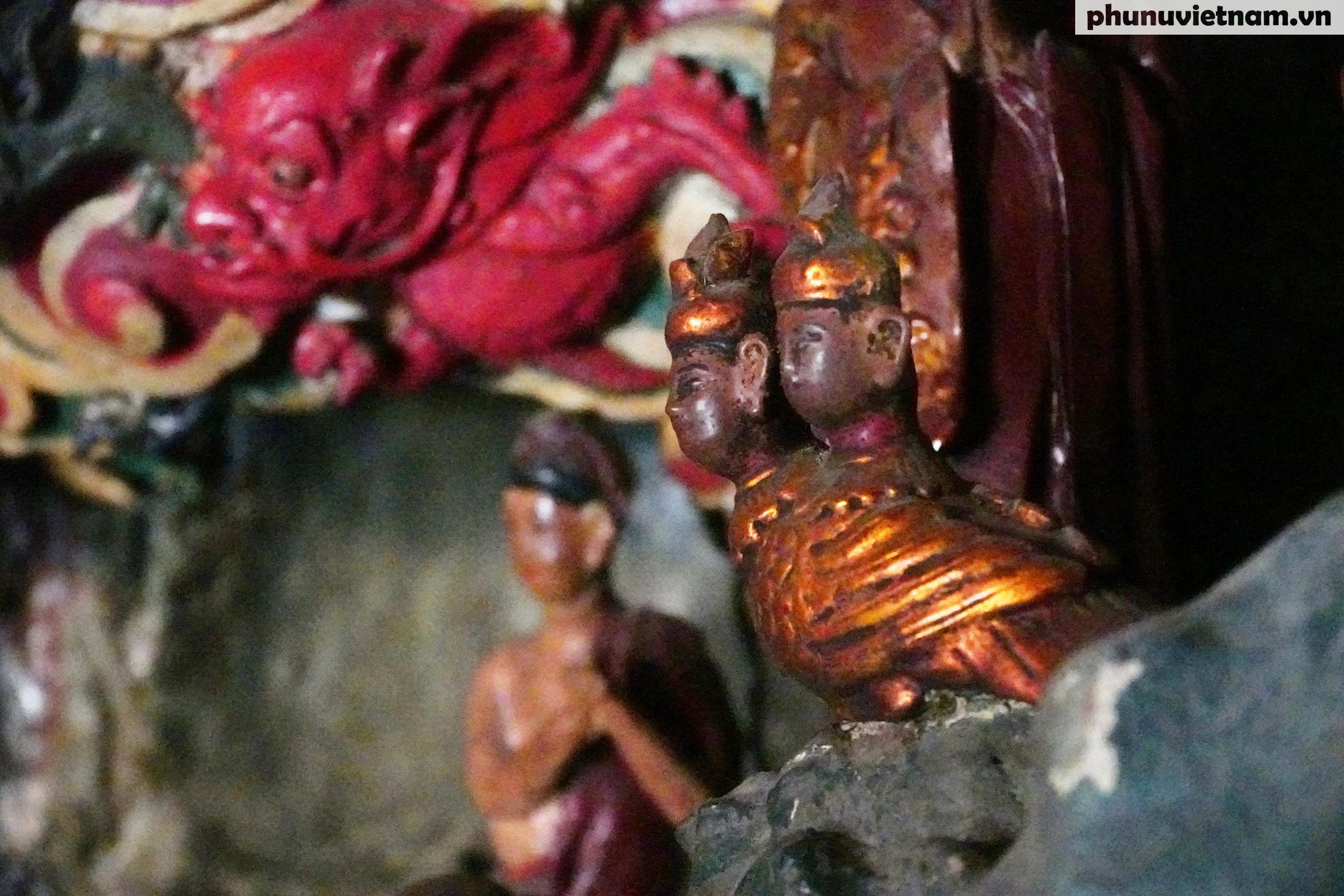 Ngỡ ngàng trước những kiệt tác bằng đất sét trên 200 tuổi về đạo Phật - Ảnh 16.