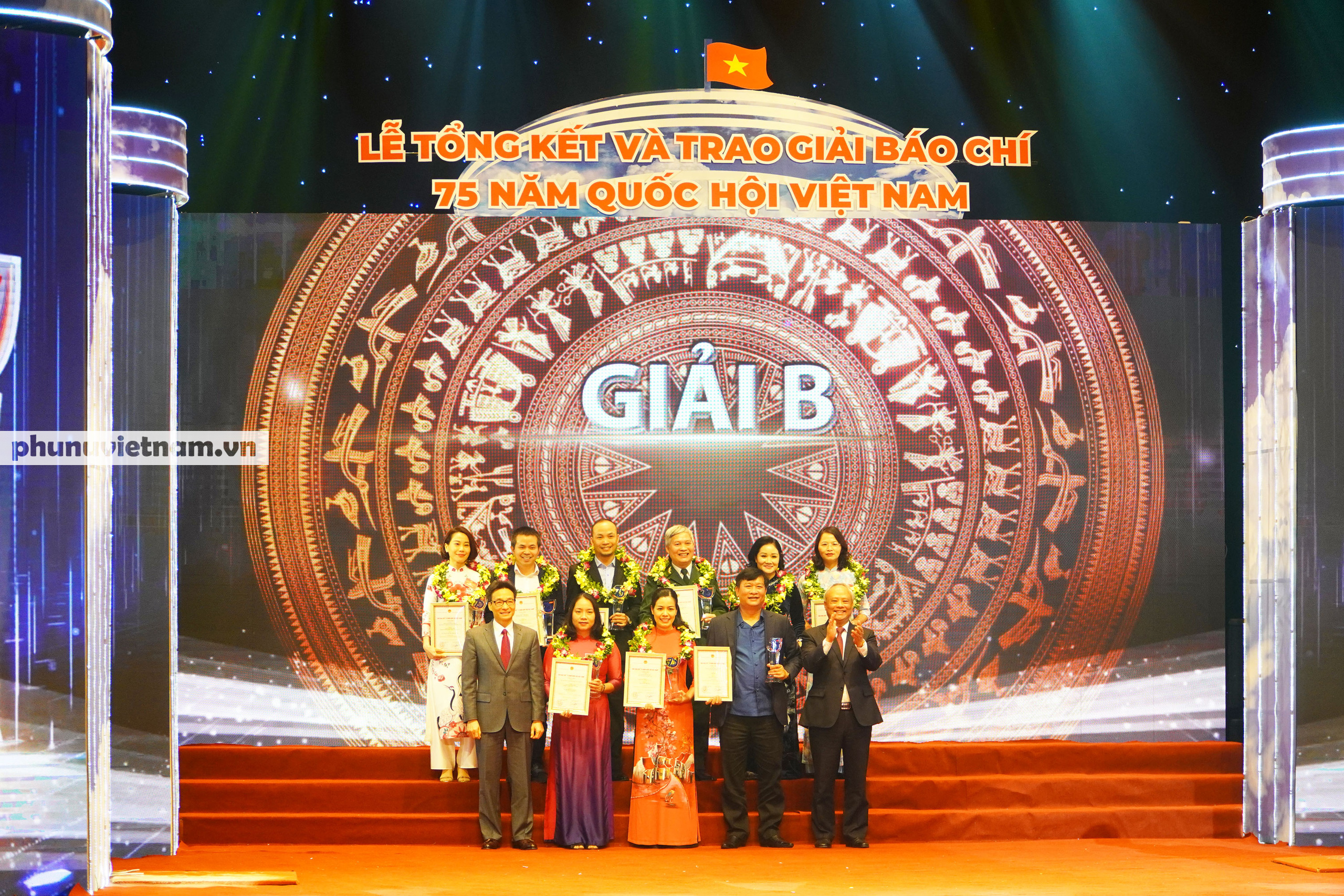 """Báo Phụ nữ Việt Nam đạt Giải C Giải Báo chí """"75 năm Quốc hội Việt Nam"""" - Ảnh 5."""