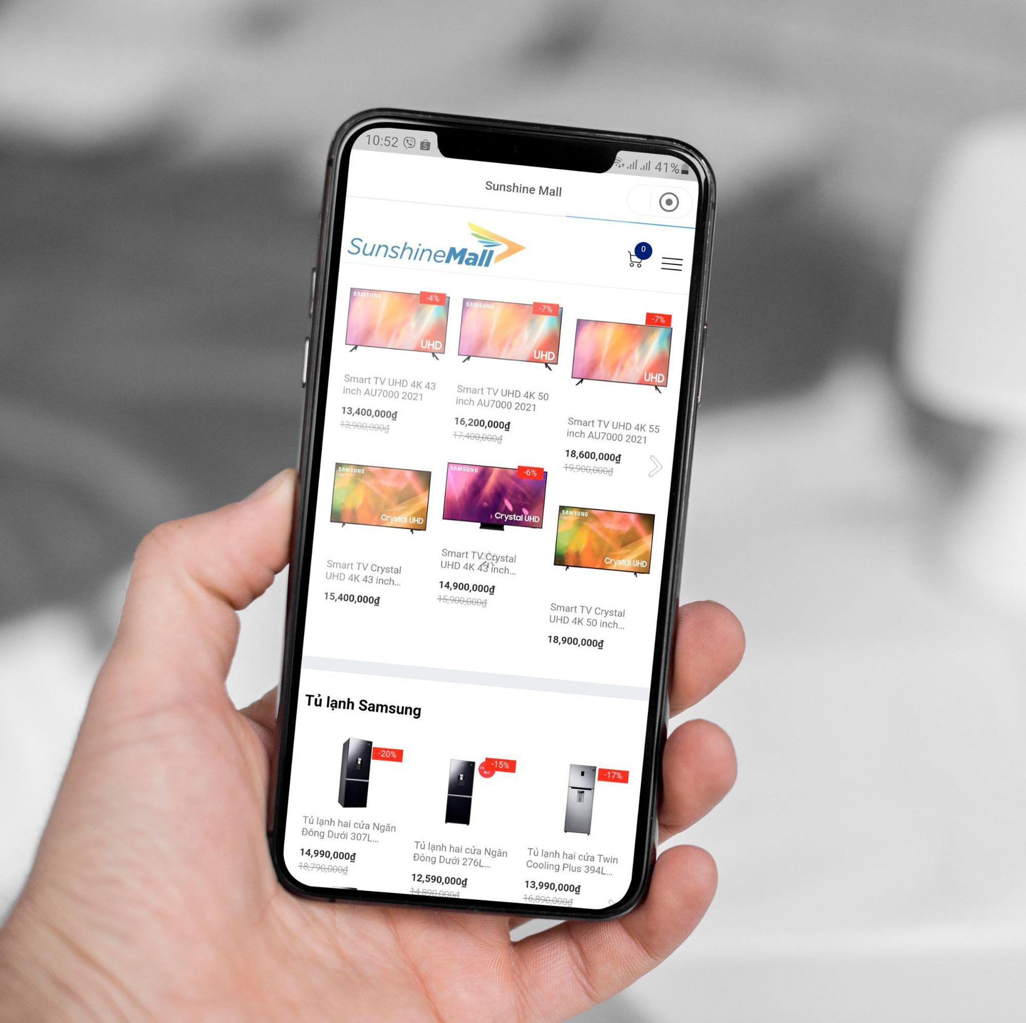 Sunshine Mall chính thức mở bán trên KSFinance App - Ảnh 3.