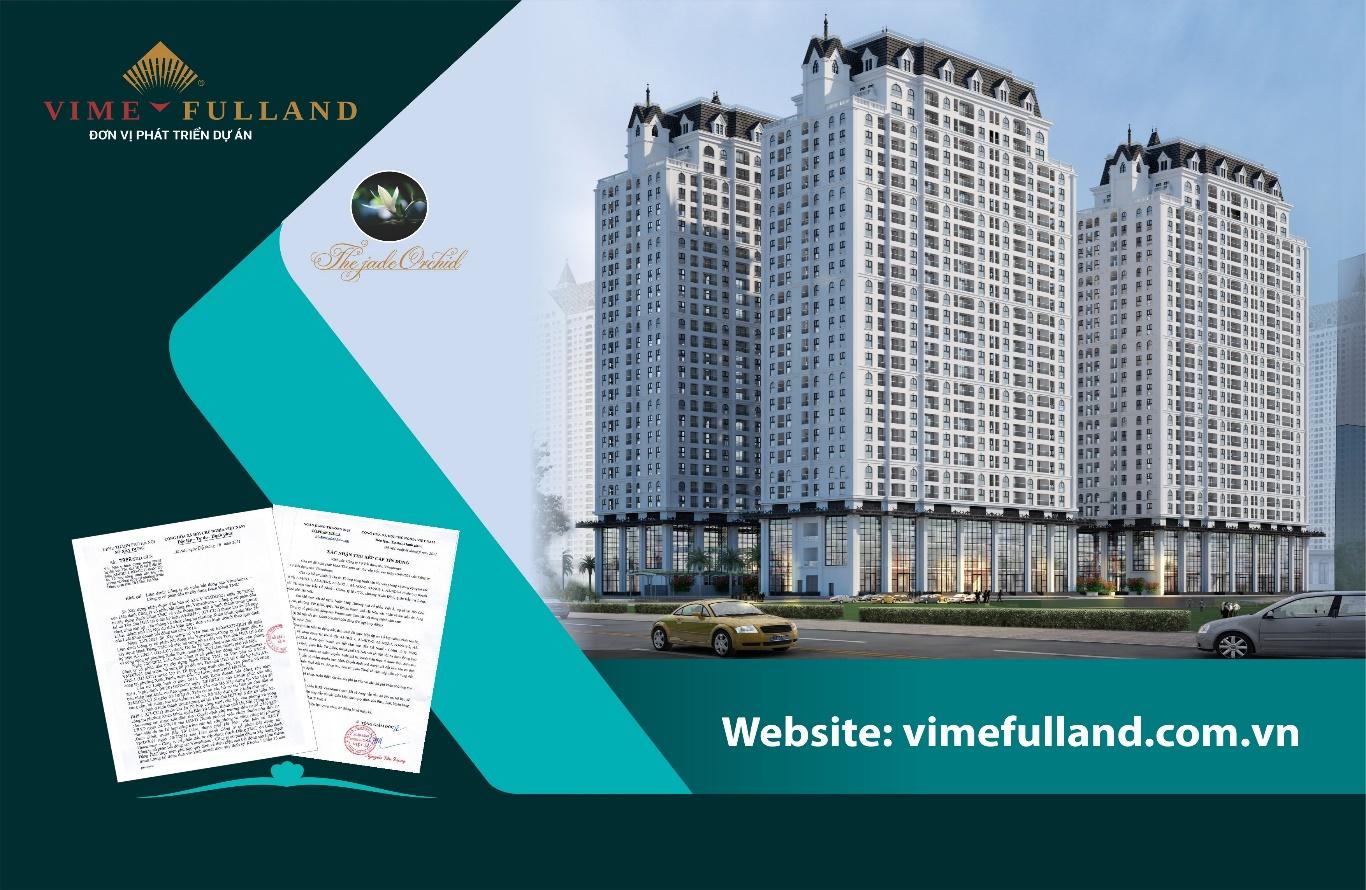 Tòa nhà chung cư cao tầng HH3 dự án The Jade Orchid thương hiệu Vimefulland chính thức đủ điều kiện bán hàng - Ảnh 1.