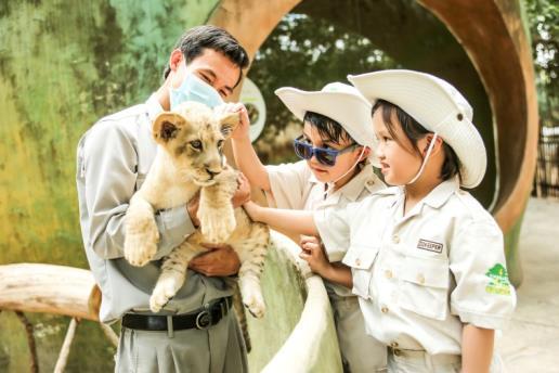 """Một ngày vào vai """"nhà động vật học"""" giữa """"thiên đường hoang dã"""" Vinpearl Safari - Ảnh 8."""