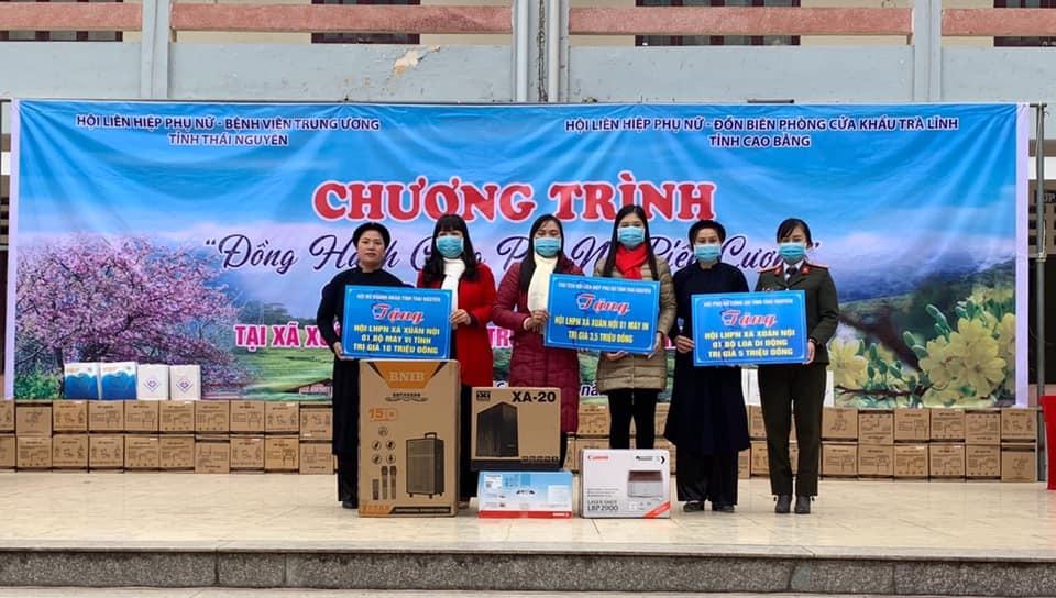 Hội LHPN tỉnh Thái Nguyên mang Tết đến cho người nghèo  - Ảnh 4.