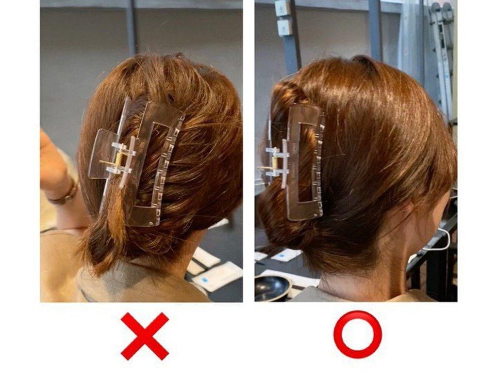 """Chiêu búi tóc chuẩn đẹp với kẹp càng cua, giúp bạn """"sống ảo"""" mọi góc chụp  - Ảnh 2."""