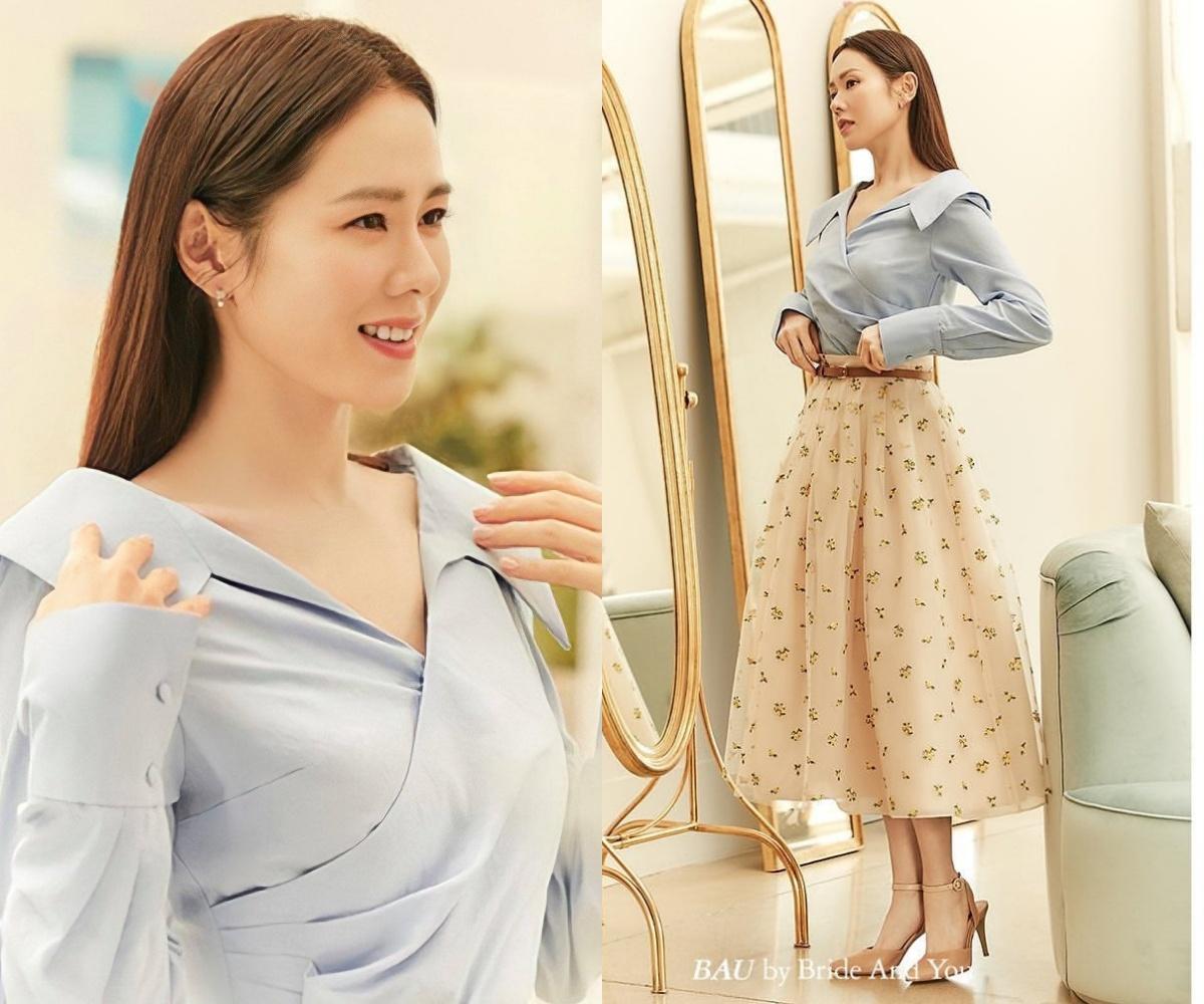 Yêu vào đổi style, Son Ye Jin lên đồ vừa yêu kiều vừa sang xịn khiến nàng công sở nào cũng muốn copy theo - Ảnh 2.