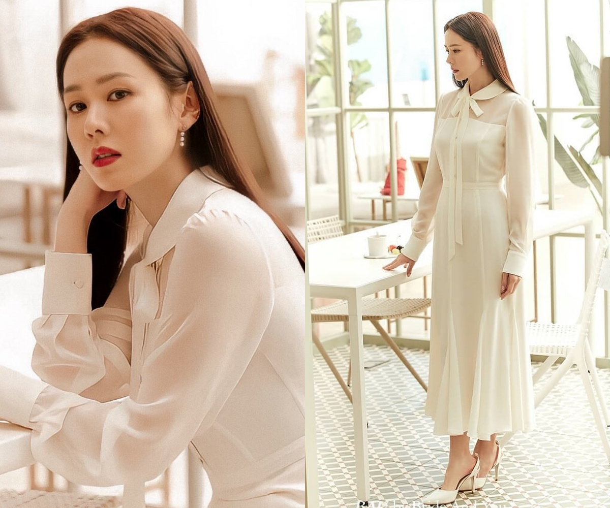 Yêu vào đổi style, Son Ye Jin lên đồ vừa yêu kiều vừa sang xịn khiến nàng công sở nào cũng muốn copy theo - Ảnh 3.