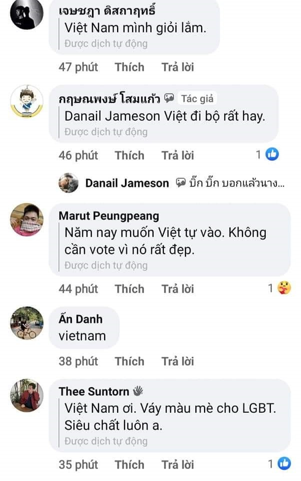 Học tập H'Hen Niê khi thi hoa hậu ở Thái Lan, Ngọc Thảo làm nức lòng fan với chiếc đầm ủng hộ LGBT  - Ảnh 2.
