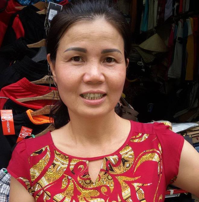 Chị Hồng, con dâu của NSND Trần Hạnh
