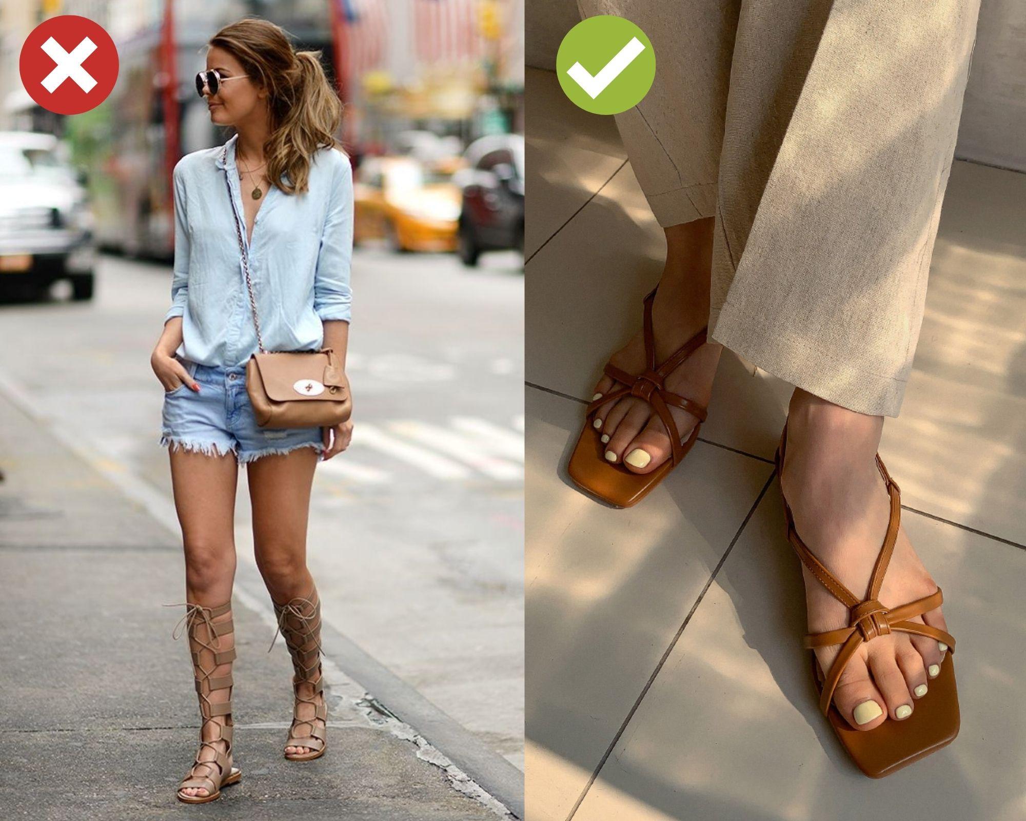 Phải loại ngay 5 mẫu giày dép kém sành điệu này thì style của chị em mới phất lên được - Ảnh 4.