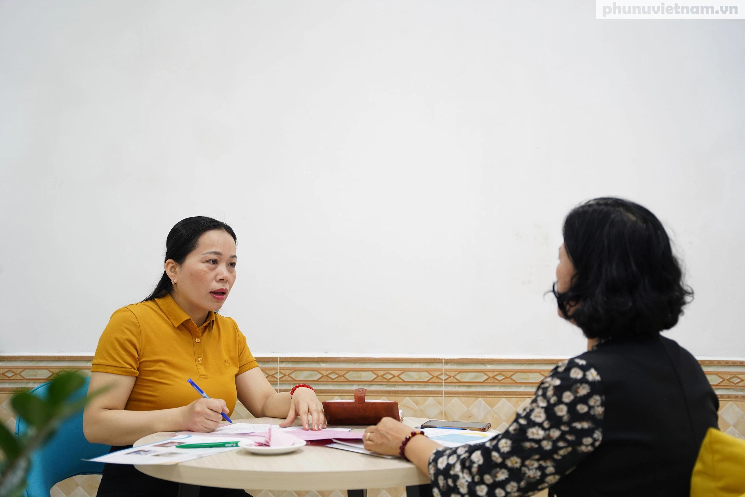 Văn phòng hỗ trợ phụ nữ di cư hồi hương ở Hải Phòng trước ngày khai trương - Ảnh 6.