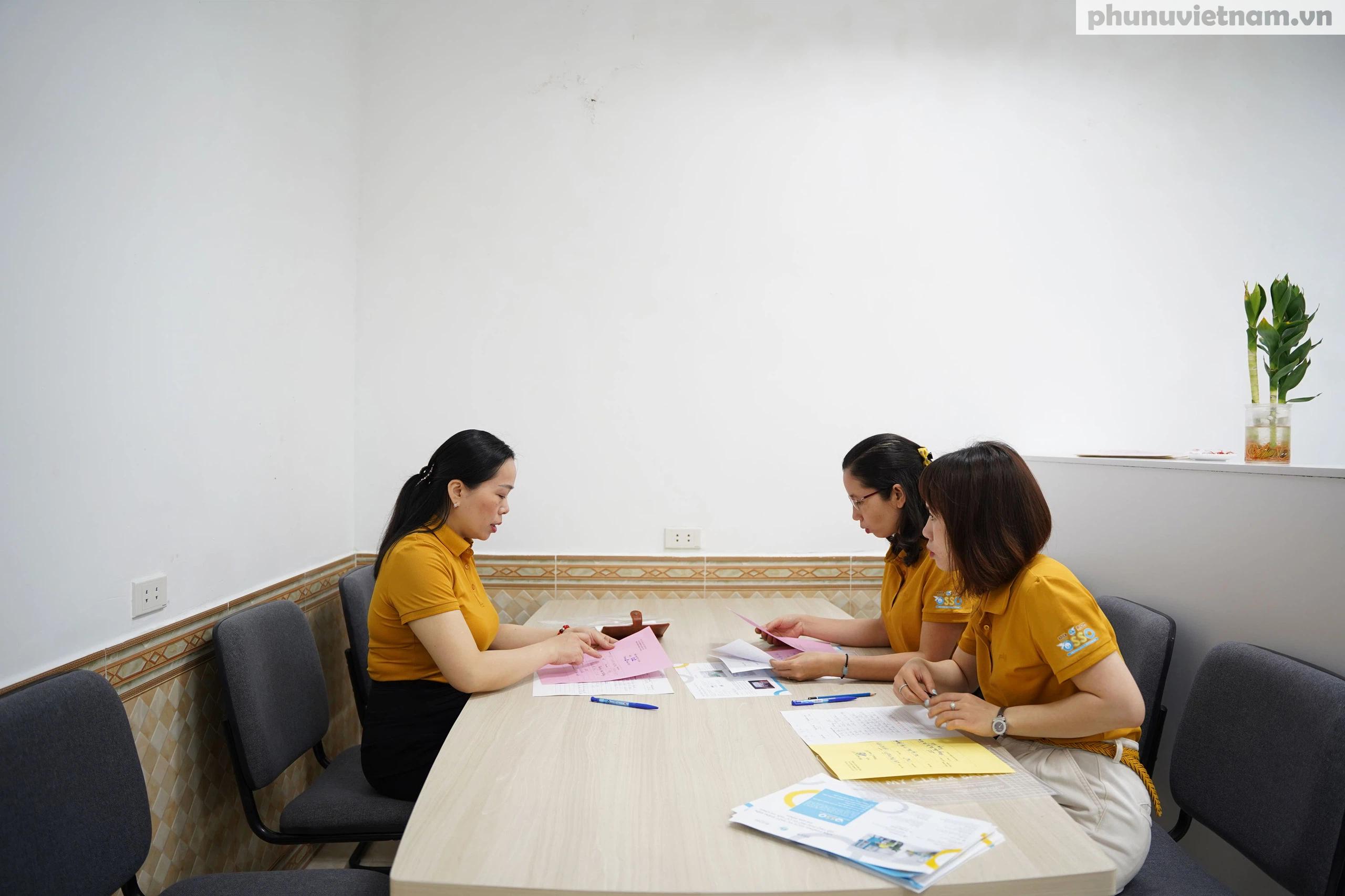 Văn phòng hỗ trợ phụ nữ di cư hồi hương ở Hải Phòng trước ngày khai trương - Ảnh 7.