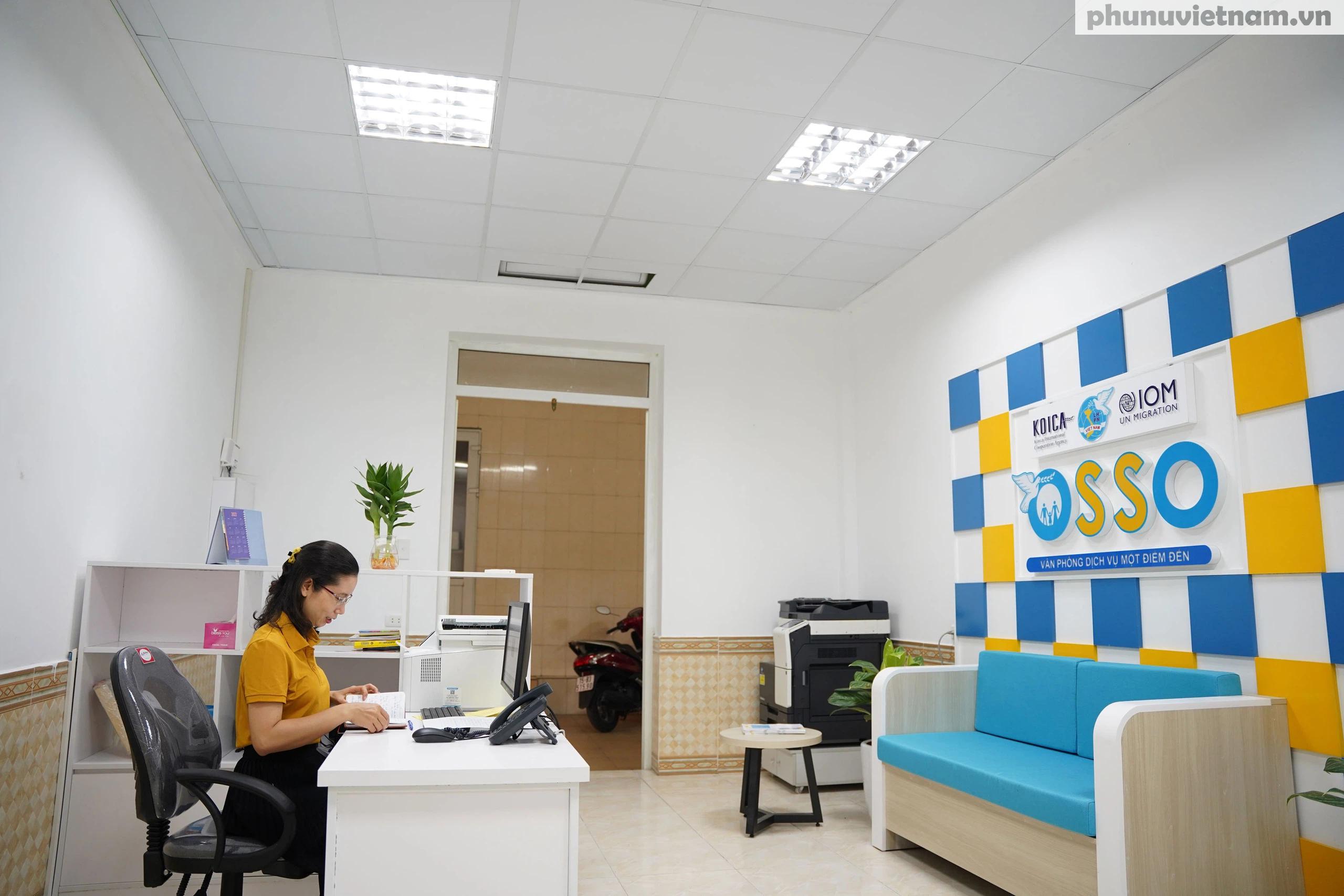 Văn phòng hỗ trợ phụ nữ di cư hồi hương ở Hải Phòng trước ngày khai trương - Ảnh 10.