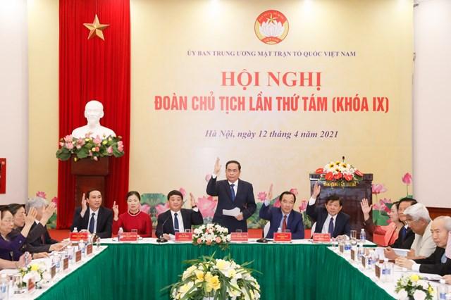 Tân Chủ tịch UBTƯ MTTQ Việt Nam Đỗ Văn Chiến: Đồng tâm hiệp lực xây dựng MTTQ Việt Nam vững mạnh - Ảnh 1.