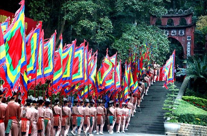 Tổ chức bắn pháo hoa dịp Giỗ Tổ Hùng Vương – Lễ hội Đền Hùng 2021 - Ảnh 1.