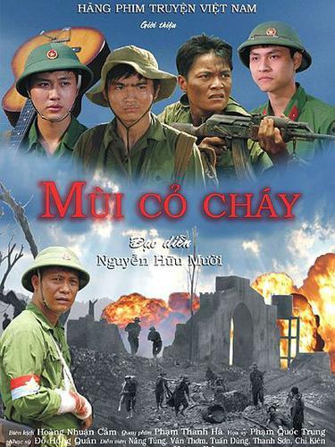 """Bộ phim """"Mùi cỏ cháy"""" do Hoàng Nhuận Cầm biên kịch"""
