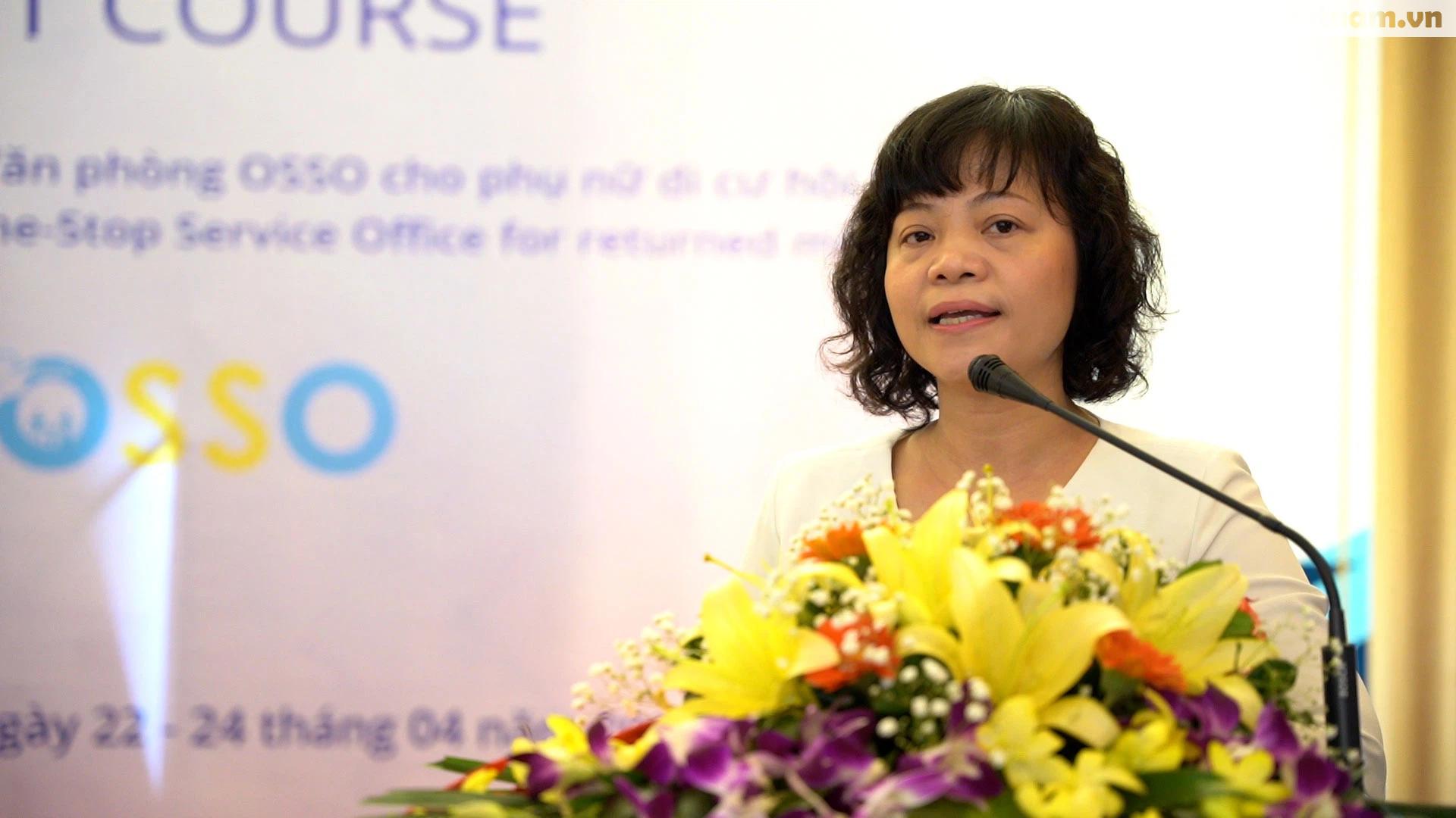 Cán bộ Hội LHPN ở 5 tỉnh, thành phố tham gia tập huấn về tham vấn cho phụ nữ di cư hồi hương - Ảnh 1.
